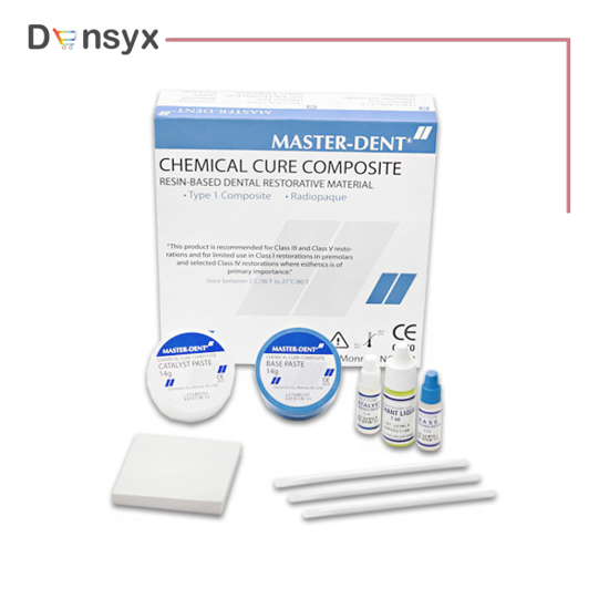 Picture of کامپوزیت شیمیایی سلف کیور مستردنت | Master Dent- Composite Cure Chemical